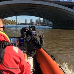 Film Boat Hire in London
